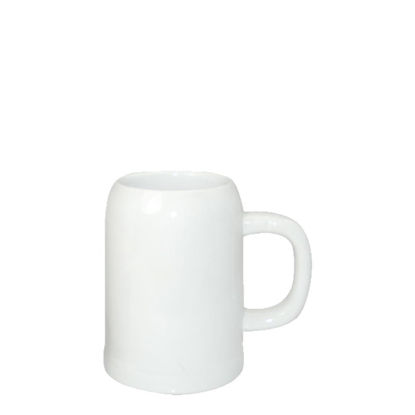 Picture of BEER MUG - WHITE/GLOSS -  0.25 L orca