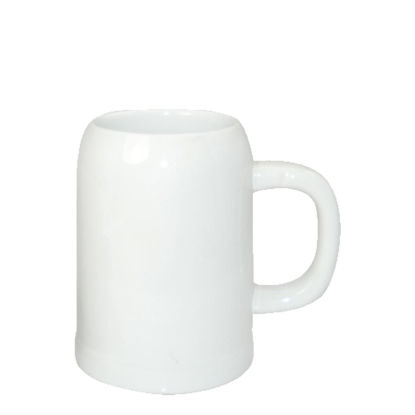 Picture of BEER MUG - WHITE/GLOSS -  0.50 L orca
