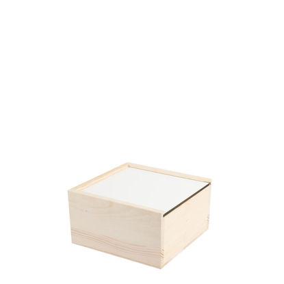 Εικόνα της Wooden Storage Box SMALL 12.6x12.8x7cm (without cover)