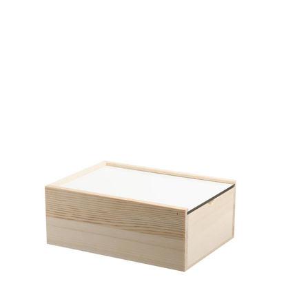 Εικόνα της Wooden Storage Box LARGE 12.6x17.9x7cm (without cover)