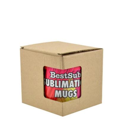 Picture of BOX - MUG 11oz.(BROWN window) Paper