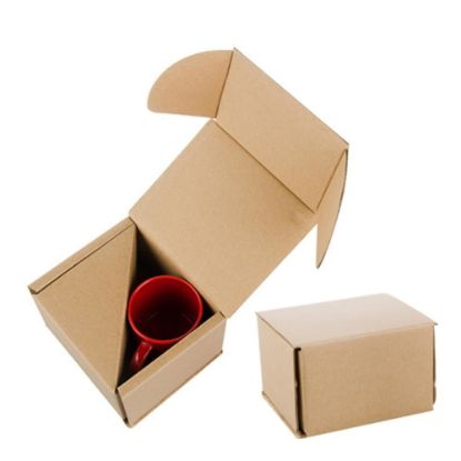 Picture of BOX - MUG 11oz. (BROWN) Paper FOR 2mugs