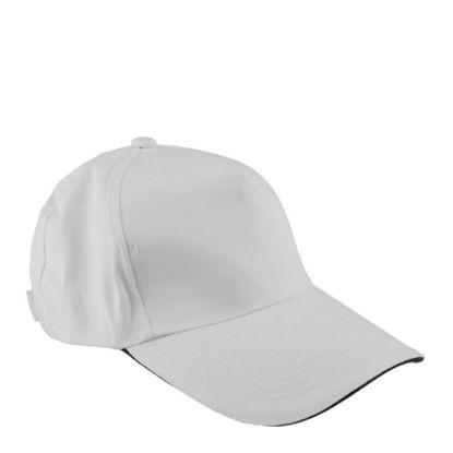 Εικόνα της CAP full (ADULT) WHITE cotton