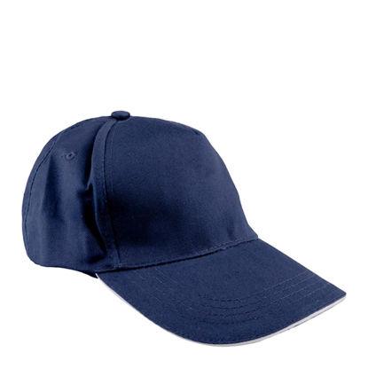 Εικόνα της CAP full (ADULT) BLUE NAVY cotton