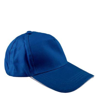Εικόνα της CAP full (ADULT) BLUE SAPPHIRE cotton