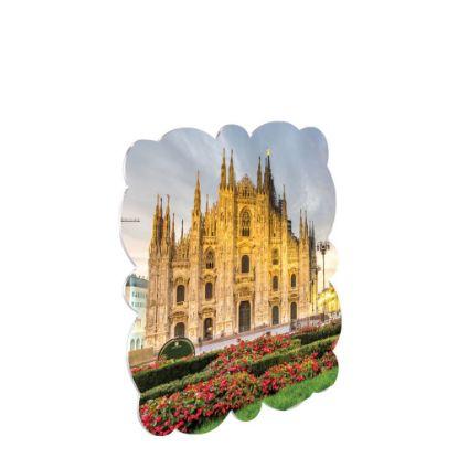 Εικόνα της CREATIVE (ALU) MILAN WHITE GLO.-30.48x30.48