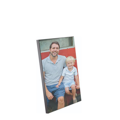 Εικόνα της WOODEN PHOTO PANELS - GLOSS WH.-20.32X25.40
