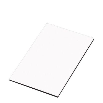 Εικόνα της BIG PANEL-HB GLOSS white (62x107.5) 6.35mm black-back
