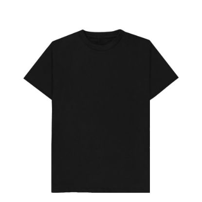 Εικόνα της T-SHIRT cotton - BLACK (XS) unisex