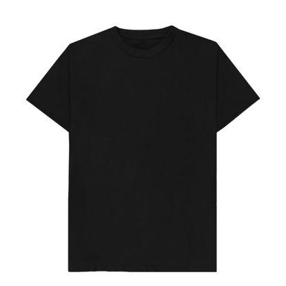 Εικόνα της T-SHIRT cotton - BLACK (XL) unisex