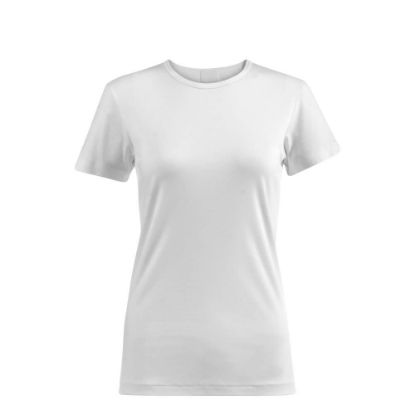 Picture of T-SHIRT cotton - WHITE (XS) women