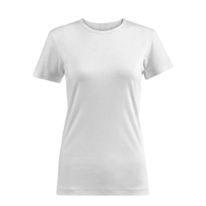 Picture of T-SHIRT cotton - WHITE (XL) women