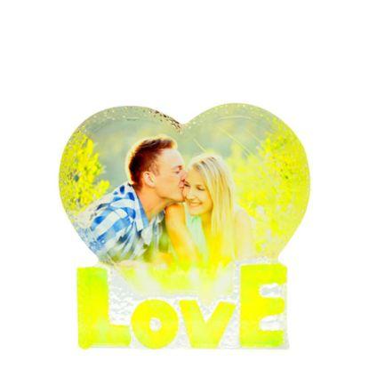 Εικόνα της CRYSTAL - LOVE HEART (14x14.5cm-28mm)