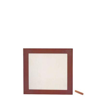 Εικόνα της Wood Photo Frame - Dark Brown 15.2x15.2cm