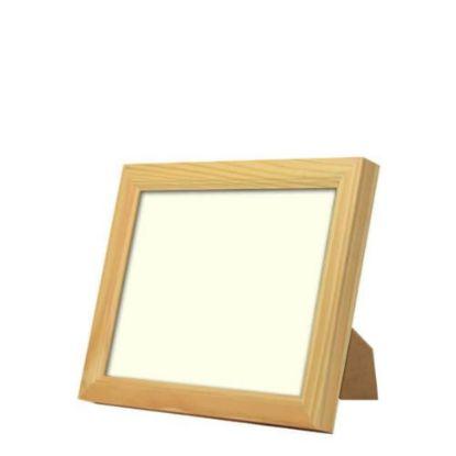 Εικόνα της Wood Photo Frame - Light Brown 15.2x20.2cm (Functional)