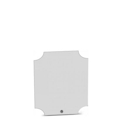 Picture of HB - PHOTO FRAME corner circle (17x20cm-5mm)