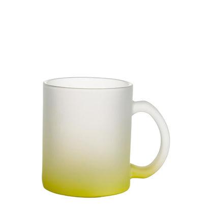 Εικόνα της MUG GLASS -11oz (FROSTED) YELLOW Gradient