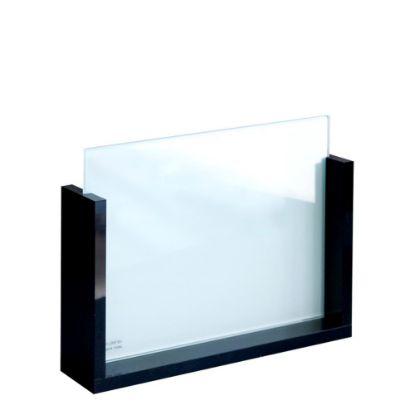 Εικόνα της GLASS FRAME -SLIDE STAND- Glass+Black Acrylic