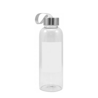 Picture of GLASS BOTTLE 420ml (with Patch SQUARE)
