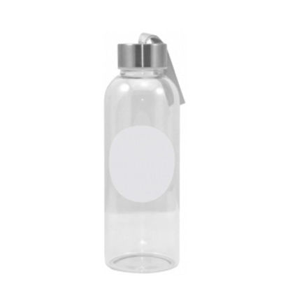 Picture of GLASS BOTTLE 420ml (with Patch OVAL)