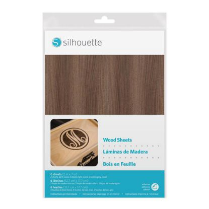 Picture of GRAPHTEC - WOOD PAPER SHEETS/Curio