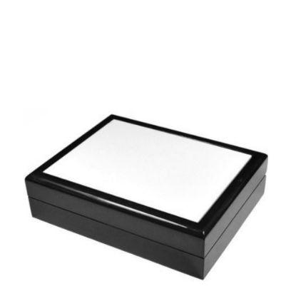 Picture of JEWELRY BOX - BLACK - 232x182x60mm