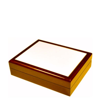 Picture of JEWELRY BOX - BROWN - 232x182x60mm