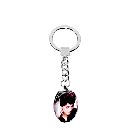 Picture of KEY-RING - CRYSTAL (Oval)