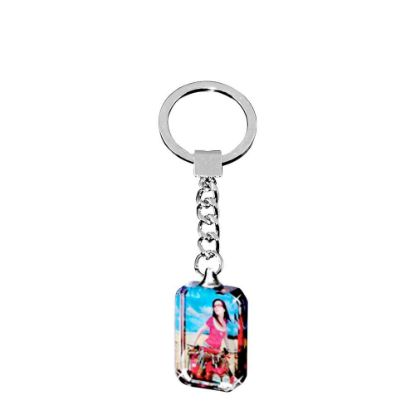Picture of KEY-RING - CRYSTAL (Rectangular)