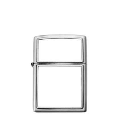 Picture of Lighter (Metal white) with insert