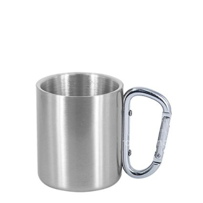 Εικόνα της Stainless Steel Mug 11oz - SILVER with Silver Handle