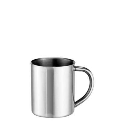 Εικόνα της Stainless Steel Mug 8oz - SILVER