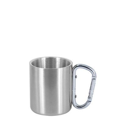 Εικόνα της Stainless Steel Mug 8oz - SILVER with Silver Handle