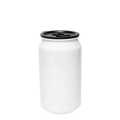 Picture of WATER CAN TIN - ALUMINUM (WHITE) 18oz