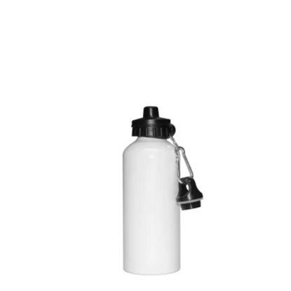 Εικόνα της WATER BOTTLE - ALUM. 400ml (WHITE eco) 2caps