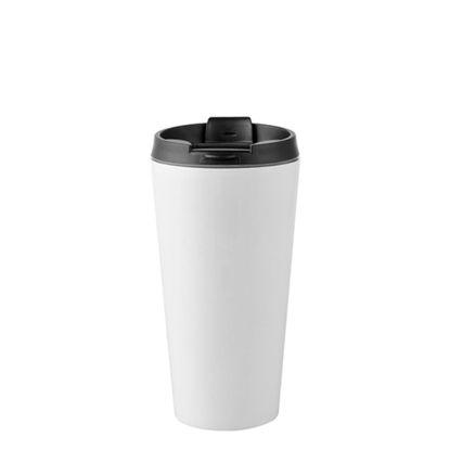 Εικόνα της Tumbler 16oz - WHITE with Black Cup