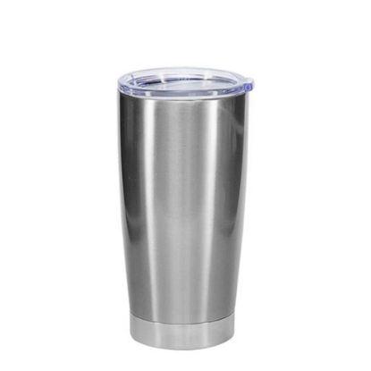 Εικόνα της Tumbler 20oz - SILVER with Clear Cup