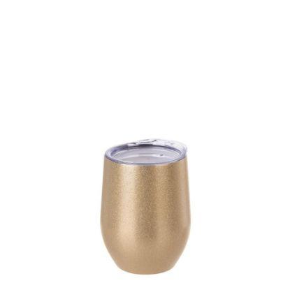 Εικόνα της Stemless Cup 12oz (Glitter Gold)