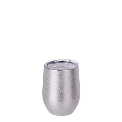 Εικόνα της Stemless Cup 12oz (Glitter Silver)
