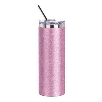 Εικόνα της Skinny Tumbler 20oz (Glitter Pink)