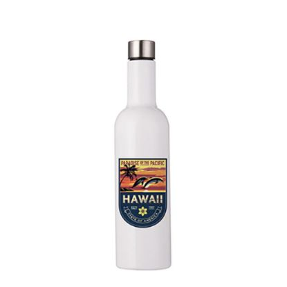 Picture of BOTTLE WINE shape 750ml WHITE
