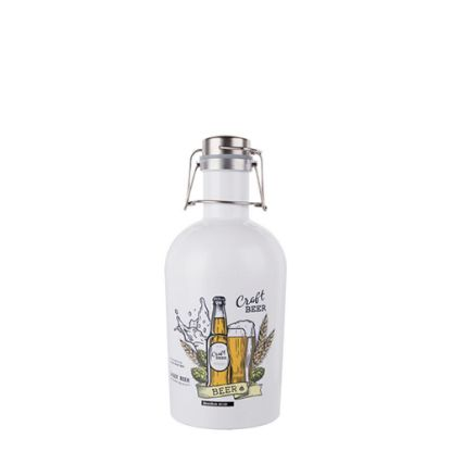 Picture of GROWLER (STAINLESS) 64oz/2000ml WHITE