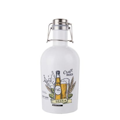 Picture of GROWLER (STAINLESS) 32oz/1000ml WHITE