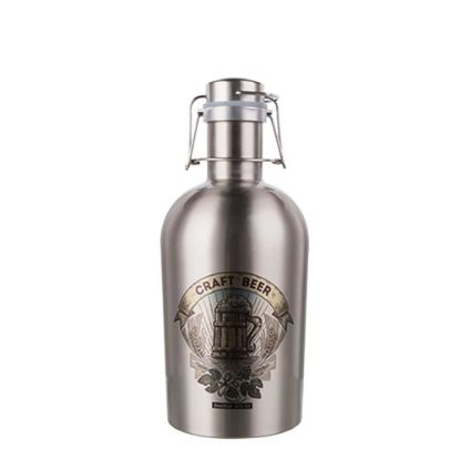 Picture of GROWLER (STAINLESS) 32oz/1000ml SILVER