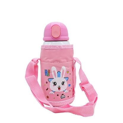 Picture of KIDS - D.WALL BOTTLE-550ml- PINK (3 lids+Bag)
