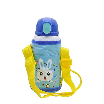 Picture of KIDS - D.WALL BOTTLE-550ml- BLUE (3 lids+Bag)
