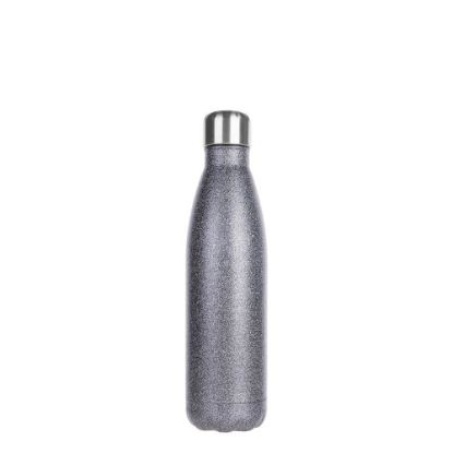 Picture of Bowling Bottle 500ml (Glitter Silver)