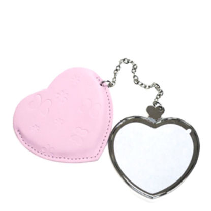 Picture of MIRROR - HEART with leather case