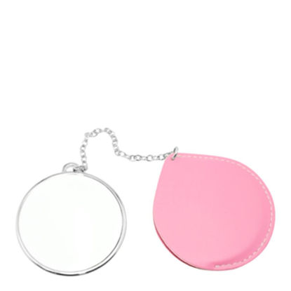 Picture of MIRROR - ROUND with leather case