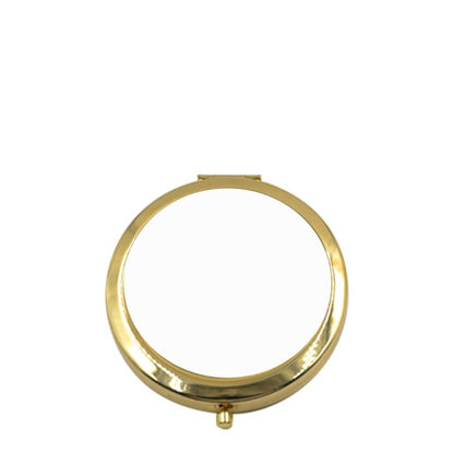 Picture of MIRROR - ROUND (7cm) gold
